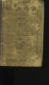 Cours Normal D'Histoire. - Couverture - Format classique