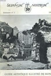 Guide Artistique Illustre De Sion-Annuaire N°2 - Couverture - Format classique