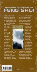 Les cartes divinatoires du feng shui - 4ème de couverture - Format classique