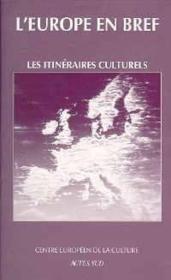 Itineraires Culturels - Couverture - Format classique