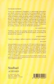 Étendards interdits - 4ème de couverture - Format classique