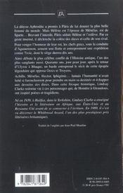 Troie, Vaincre Ou Mourir - 4ème de couverture - Format classique