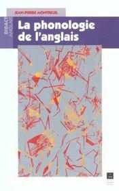 Phonologie De L Anglais - Intérieur - Format classique