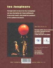 Les jongleurs - 4ème de couverture - Format classique