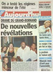 Aujourd'Hui En France N°586 du 03/05/2003 - Couverture - Format classique