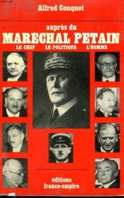 Aupres Du Marechal Petain. - Couverture - Format classique