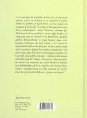 L'Histoire De Ma Machine A Ecrire - 4ème de couverture - Format classique