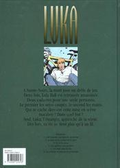 La Peur Est La Couleur De La Mort - 4ème de couverture - Format classique