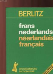 Frans Nederlands Neerlandais Francais - Couverture - Format classique