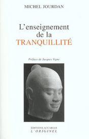 Enseignement De La Tranquilite (L') - Intérieur - Format classique