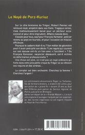 Noye De Porz-Kuriuz (Le) - 4ème de couverture - Format classique