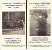 Audiovisuel Et Petite Enfance - Couverture - Format classique