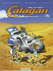 Calagan rallye raid t.1 - Couverture - Format classique