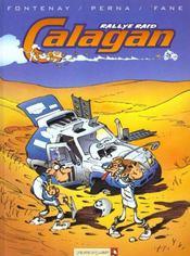 Calagan rallye raid t.1 - Intérieur - Format classique