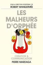 Malheurs D'Orphee (Les) - Couverture - Format classique