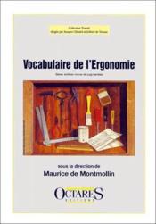 Vocabulaire de l'ergonomie (2e édition) - Couverture - Format classique