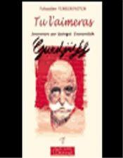 Tu L'Aimeras - Souvenirs Sur G.I. Gurdjieff - Intérieur - Format classique