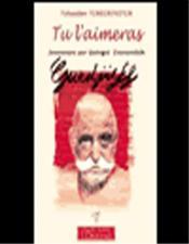 Tu L'Aimeras - Souvenirs Sur G.I. Gurdjieff - Couverture - Format classique