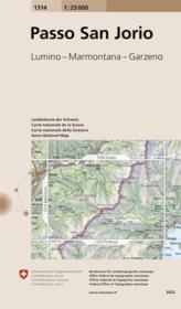 Passo San Jorio - Couverture - Format classique