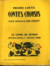 Contes Choisis. 50 Bois Originaux De Jean Lebedeff. Le Livre De Demain N° 78. - Couverture - Format classique