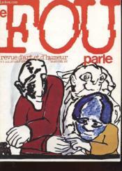 Le Fou Parle N°7 - Revue D'Art Et D'Humeur - Couverture - Format classique