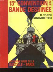 15° Convention De La Bande Dessinee - Couverture - Format classique