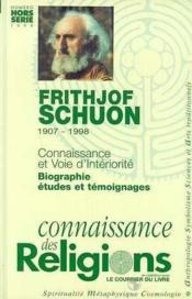 Frithjof schuon (1907-1998)  - Collectif