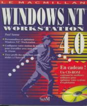 Windows NT 4. 0 Workstation - Couverture - Format classique