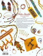 Perles De Rocaille Autour Du Monde - 4ème de couverture - Format classique