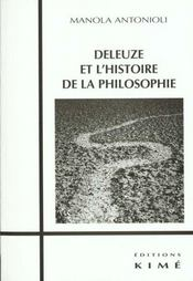 Deleuze et l'histoire de la philosophie - Intérieur - Format classique