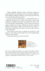 La Chambre ardente - 4ème de couverture - Format classique