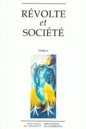 Révolte et société. t.2 - Couverture - Format classique