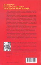 Premier Ministre De Bourguiba Temoigne (Un) - 4ème de couverture - Format classique