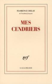 Vente  Mes cendriers  - Florence Delay
