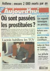 Aujourd'Hui En France N°588 du 06/05/2003 - Couverture - Format classique