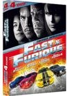 DVD &amp; Blu-ray - Fast And Furious - Intgrale 4 Films