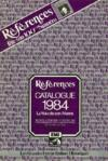 References, N° 100, Catalogue 1984