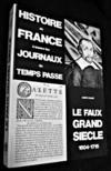 Histoire de France à travers les journaux du temps passé