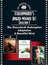 Livres - Screenwriters Award-Winner Set, Collection 3 : The Shawshank Redemption, Adaptation, And A Beautiful Mind