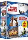 DVD & Blu-ray - Docteur Dolittle 1 & 2 + Le Chevalier Black