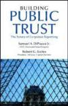 Livres - Building Public Trust : The Future Of Corporate Reporting