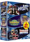 DVD & Blu-ray - Power Rangers - Le Film + Digimon - Le Film + Turbo Power Rangers
