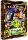 DVD &amp; Blu-ray - Le Chat Pott + Shrek 4 - Il tait Une Fin - Le Dernier Chapitre