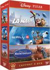 DVD & Blu-ray - Là-Haut + Wall-E + Ratatouille