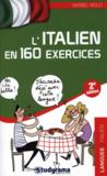 L'italien en 160 exercices (2e édition)  - Maribel Molio