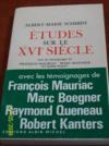 Livres - Études sur le XVIe siècle.