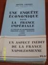 Livres - Une enquête économique dans la France impériale: le voyage du Hambourgeois Philippe-André Nemnich (1809).