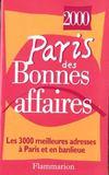 Paris bonnes affaires2000