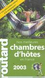 Guide Du Routard (édition 2003/2004)