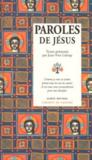 Livres - Paroles de jesus